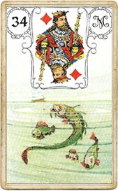 Ленорман Голубая Сова, Рыбы