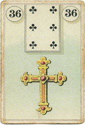Ленорман Лауры Туан (Дондорф), Крест