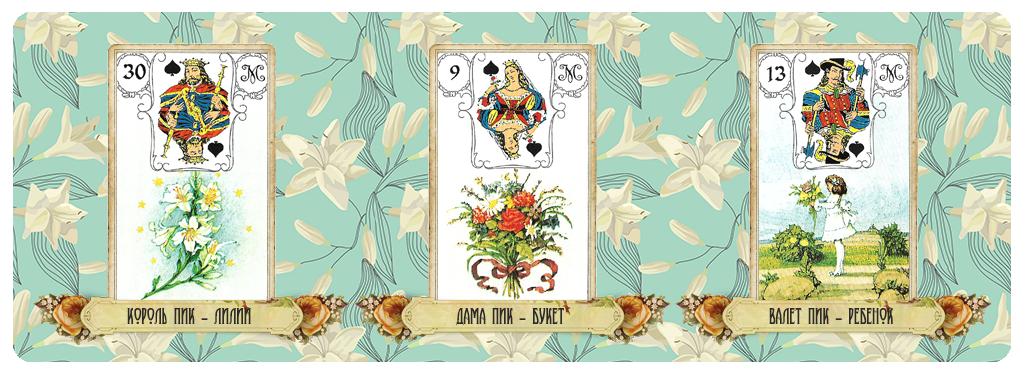 Пиковая масть в Ленорман связана с символикой аристократии, статусности