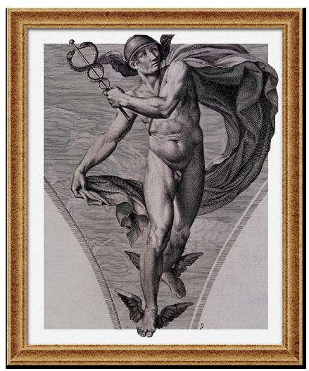 Меркурий, бог торговли и передвижения