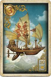 Золотые мечты Ленорман, Корабль