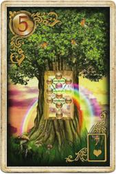 Золотые мечты Ленорман, Дерево