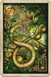 Золотые мечты Ленорман, Змея