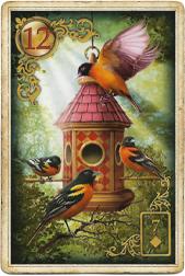 Золотые мечты Ленорман, Птицы