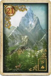 Золотые мечты Ленорман, Гора
