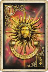 Золотые мечты Ленорман, Солнце