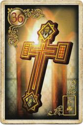 Золотые мечты Ленорман, Крест