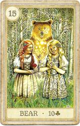 Сказочная Ленорман, Медведь
