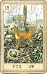 Сказочная Ленорман, Собака