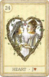 Сказочная Ленорман, Сердце