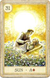 Сказочная Ленорман, Солнце