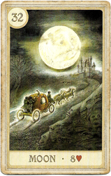 Сказочная Ленорман, Луна