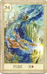 Сказочная Ленорман, Рыба