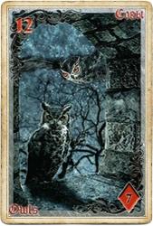 Антикарта на Ленорман: Совы