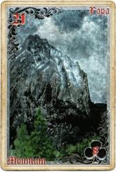 Антикарта на Ленорман: Гора