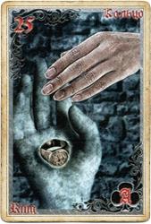 Антикарта на Ленорман: Кольцо