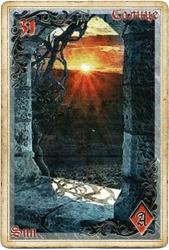 Антикарта на Ленорман: Солнце
