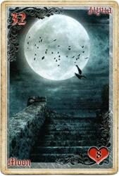 Антикарта на Ленорман: Луна