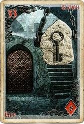 Антикарта на Ленорман: Ключ