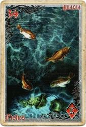Антикарта на Ленорман: Рыбы