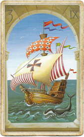 Мистическая Ленорман, Корабль