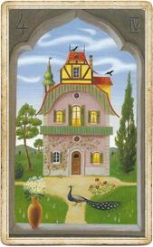Мистическая Ленорман, Дом