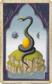 Мистическая Ленорман, Змея