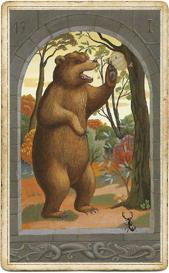 Мистическая Ленорман, Медведь