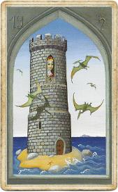 Мистическая Ленорман, Башня