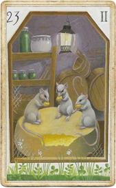 Мистическая Ленорман, Мыши