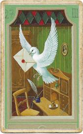Мистическая Ленорман, Письмо