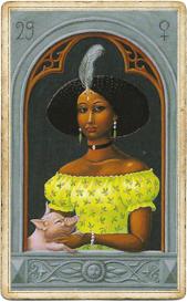Мистическая Ленорман, Женщина