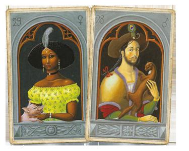 Мужчина и Женщина в Мистической Ленорман