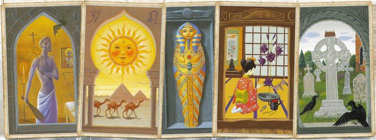 Христианские, восточные, египетские и японские, кельтские традиции в колоде