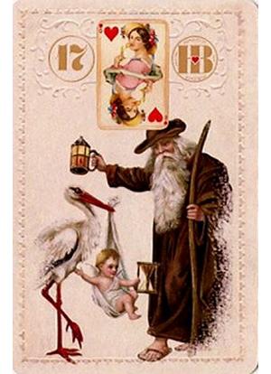 Рождественский Ленорман, Аист