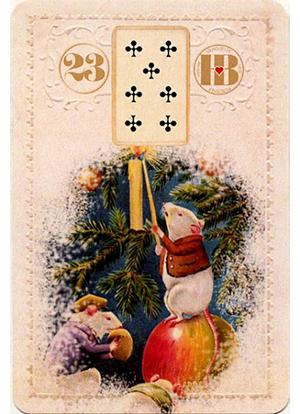 Рождественский Ленорман, Крысы