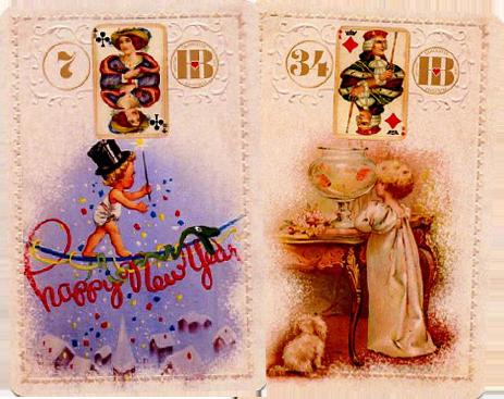 Рождественский Ленорман, Змея, Рыбы
