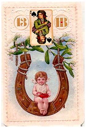 Рождественский Ленорман, Ребенок