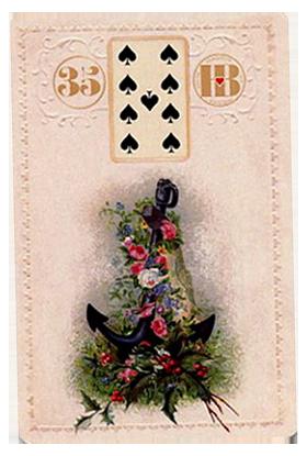 Рождественский Ленорман, Якорь