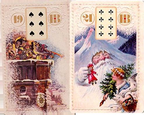 Рождественский Ленорман, Башня, Гора