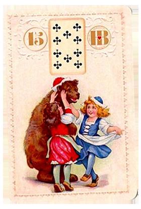 Рождественский Ленорман, Медведь