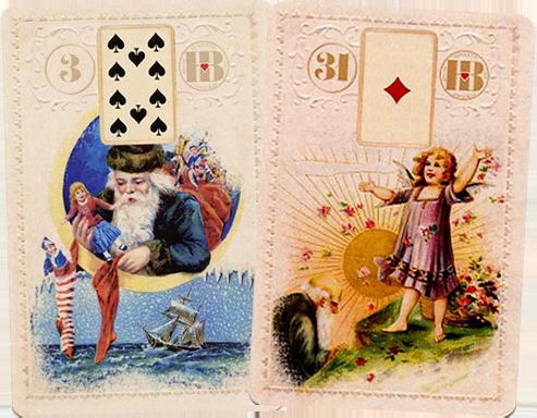 Рождественский Ленорман, Корабь, Солнце