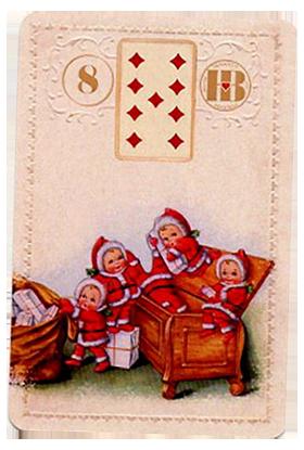 Рождественский Ленорман, Гроб