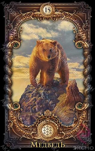 Волшебное зеркало Ленорман, Медведь